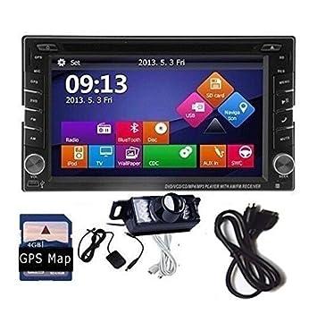 EinCar 6 2 Inch Wince 6 0 Double Din Car Stereo GPS: Amazon