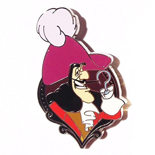 (Disney Villains In Frames Series - Captain Hook (Peter Pan) Pin)
