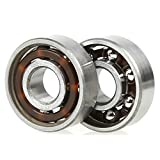 Bearings for Fidget Spinner, Holody 10 PCS 608 Steel Center Bearings Replacement Set