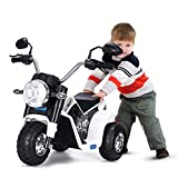 JAXPETY Go Kart Kids Ride 4 Wheel on Car Stealth Pedal Powered Outdoor Racer Black