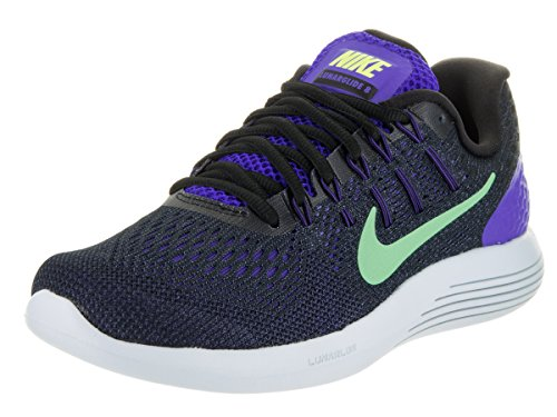 Nike Women's Lunarglide 8 Running Shoes-Persian Violet/Gr...