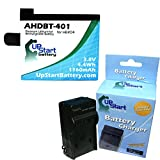 GoPro Hero4 Black Battery and Charger - Replacement for GoPro Hero4 Digital Camera Batteries and Chargers (1160mAh, 3.8V, Lithium-Ion)