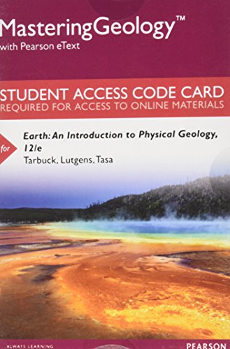 Mastering Geology with Pearson Etext...