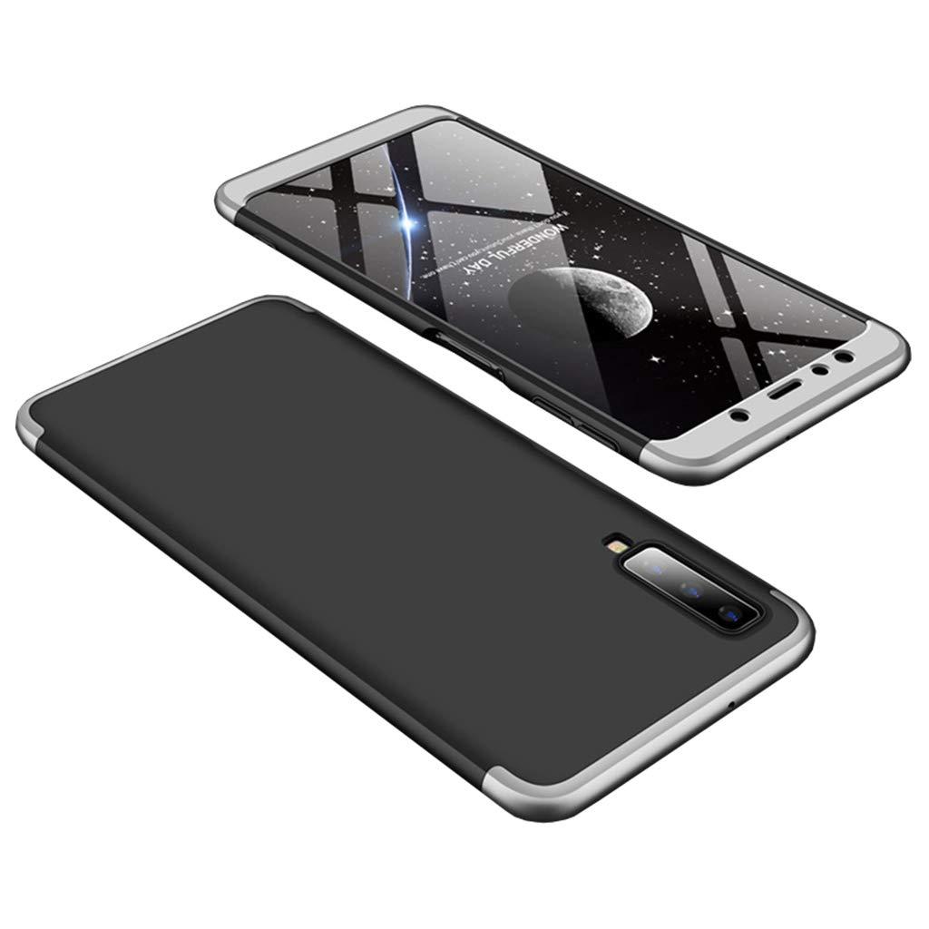 Bakicey Samsung Galaxy A7 2018 Hülle Handyhülle Galaxy A750F Schutzhülle Hard PC Case Ultradünn Cover Tasche Rückschale Harte Case Hartschale für Samsung SM-A750 Galaxy A7 2018