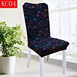 Home stretch Twin hotel dining tables and chairs back chair u European cloth seat upholstery stool package upholstery cover,kc-04