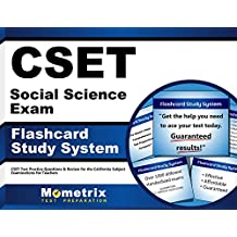 CSET Social Science Exam Flashcard Study System: CSET Test Practice Questions & Review for the California Subject...