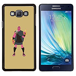 "Be-Star Único Patrón Plástico Duro Fundas Cover Cubre Hard Case Cover Para Samsung Galaxy A7 / SM-A700 ( Héroe griego Hércules semidiós Místico"" )"
