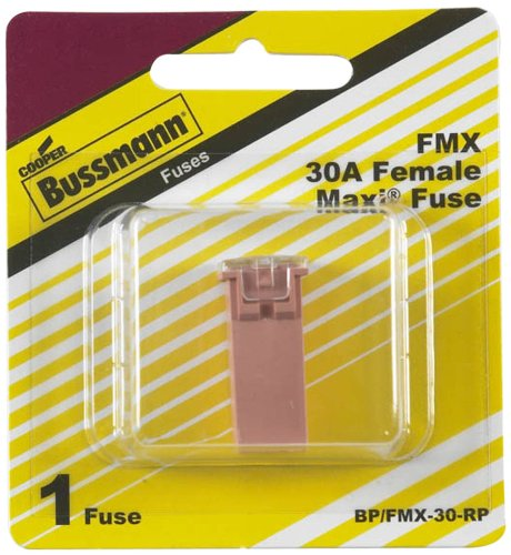 2005 Current Mustang - Bussmann (BP/FMX-30-RP) Pink 30 Amp Female Maxi Fuse