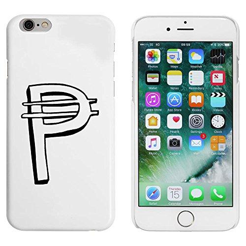 Blanc 'Symbole Peso' étui / housse pour iPhone 6 & 6s (MC00040822)