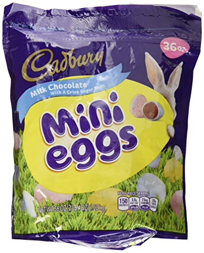 Cadbury Easter Candy Coated Mini Eggs, 36 Ounce Bag