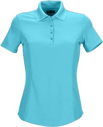 GREG NORMAN Women's Protek Micro Pique Short Sleeve Polo