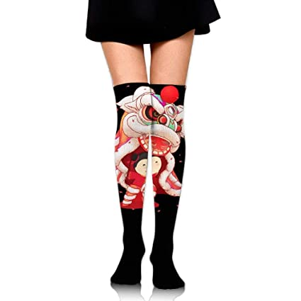 f0d06a60c8b Amazon.com  TOGEFRIEND Chinese Lion Dance Style Over The Knee Long ...