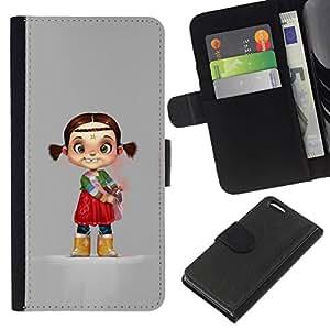 All Phone Most Case / Oferta Especial Cáscara Funda de cuero Monedero Cubierta de proteccion Caso / Wallet Case for Apple Iphone 5C // Indian Kid Children'S Character Mother