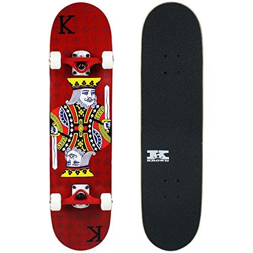 - Krown PRO Skateboard Complete Red King 7.75 in