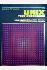 UNIX text processing (Hayden Books UNIX library system)