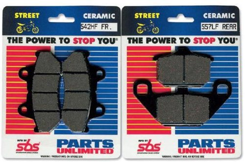 (SBS HF Ceramic Brake Pads 542HF)