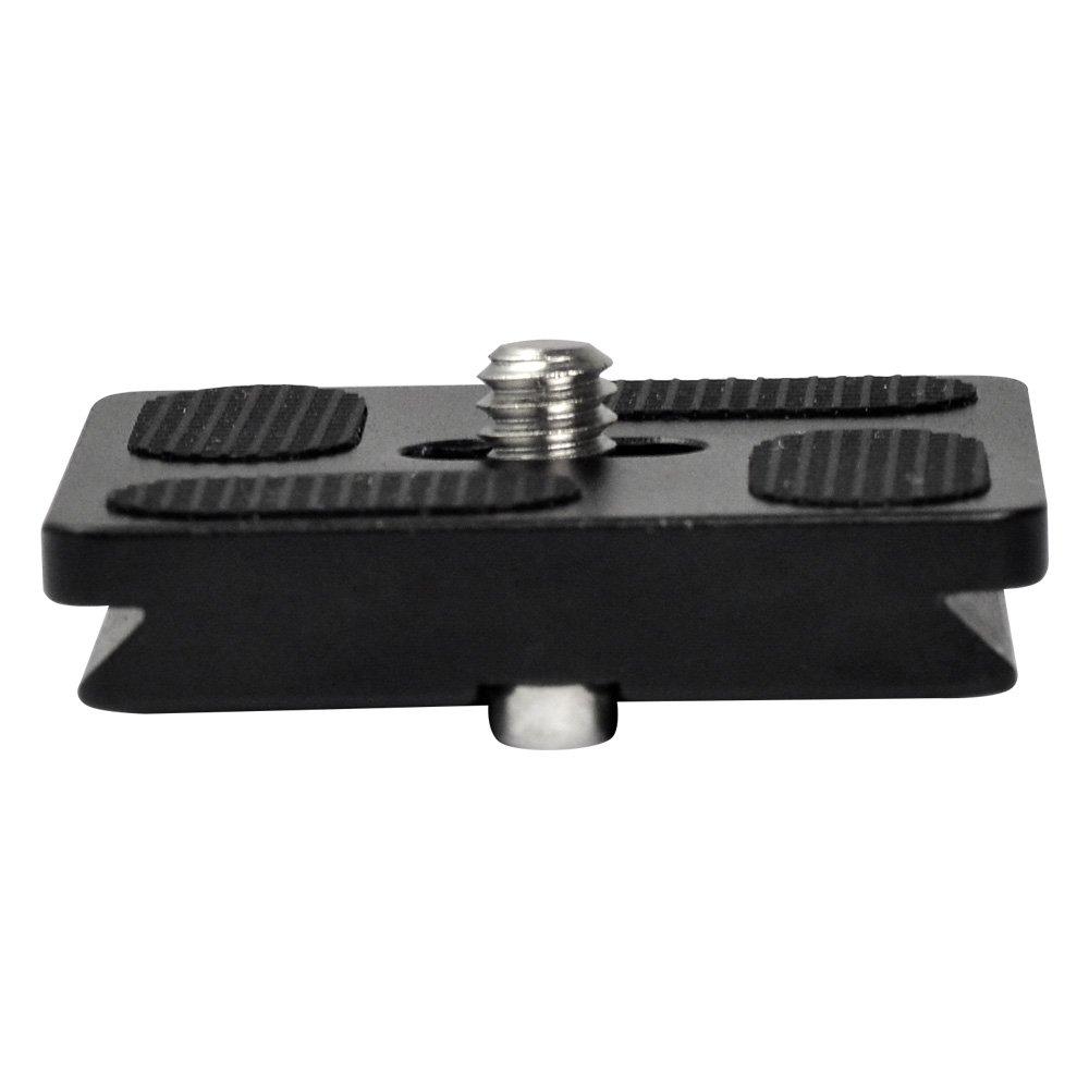 MENGS/® PU100 Plato de Liberaci/ón R/ápida para DSLR y C/ámaras Digitales compatible con tornillo de c/ámara de 0,25