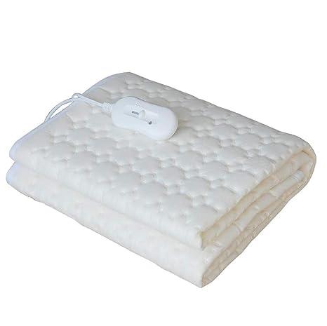 MyDomo Manta Individual con calefacción eléctrica y regulador de Temperatura 150x800 Cubierta térmica Caliente calienta Camas