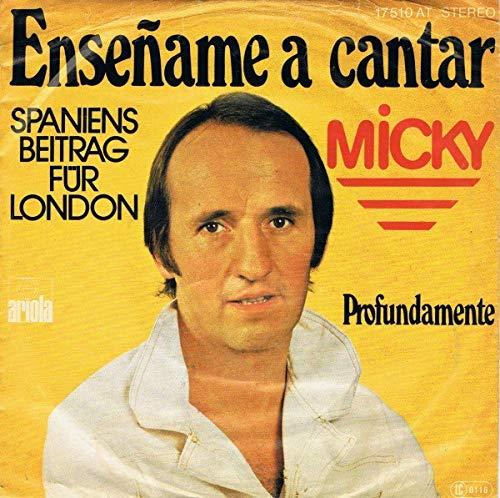 Micky - Enseñame A Cantar - Ariola - 17 510 AT: Micky: Amazon.es ...