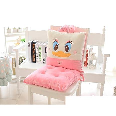 Amazon.com: Cojín para asiento de pelo, diseño de dibujos ...