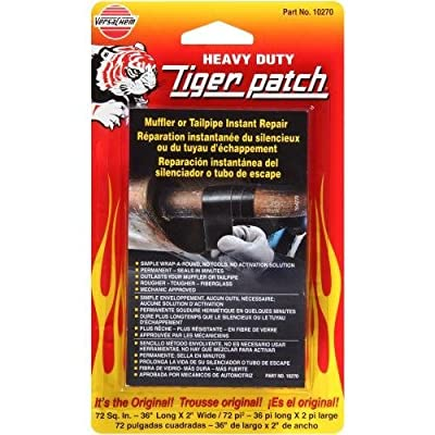 Versachem Tiger Patch Muffler & TAILPIPE WRAP - 2 INCH X 36 INCH: Automotive
