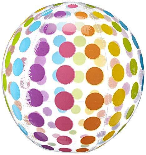 Polka Dot Rainbow Ocean Beach Ball