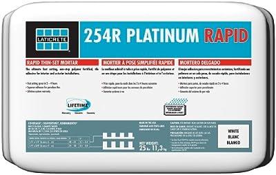 Laticrete 254r Platinum Rapid 25lb White