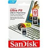 Pen Drive Ultra Fit SanDisk 3.1 32GB até 15X mais rápido SDCZ430-032G-G46