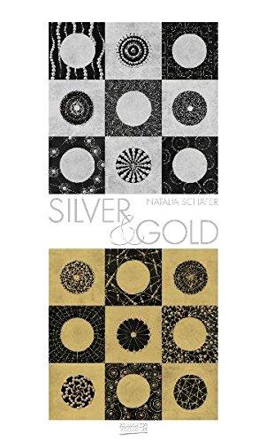 Silver & Gold Premium Kalender mit hochwertiger Folienveredelung und Prägung; Immer während: Immerwährender Kalender