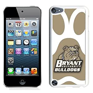 NCAA The Northeast Conference NEC Football Bryant Bulldogs 2 Protective Cell Phone Hardshell Cover Case for Ipod 5th Generation White iPod touch 5 Case