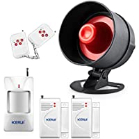 KERUI New Simplest and Easiest setting Home Burglar Sensor Easy Alarm System