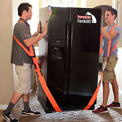 Forearm Forklift Harness, Complete Set, Pack of 2 | 2 Person Moving System | Lift furnishings Easily | Rated up to 800 lbs. by Forearm Forklift (Image #5)