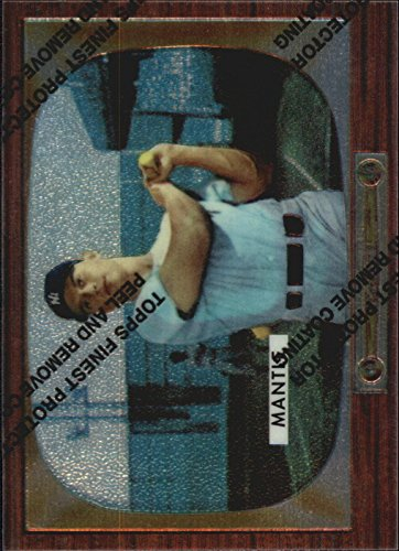 1996 Topps Mantle Finest #5 Mickey Mantle 1955 Bowman - NM-MT