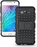 Samsung Galaxy Grand 2 Defender Stylish Armour Protector Shockproof + TPU 360° Protection Military Grade with Hybrid Kickstand Back Case Cover Easy To Carry By Shoppers Point…