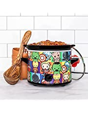 Uncanny Brands Marvel Kawaii 2qt Slow Cooker- Cook With Earth's Mightiest Heroes