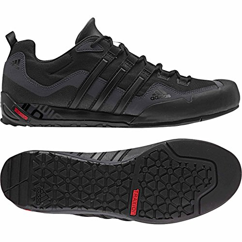 adidas outdoor Mens Terrex Swift Solo Black / Black / Carbon CXT43xt