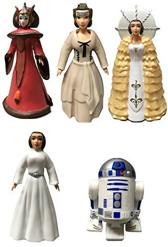 Princess Deluxe Dress Up Set - Disney Star Wars Queen Amidala and Princess Leia Figures Deluxe Dress Up Set With R2-D2 - Disney Parks Exclusive