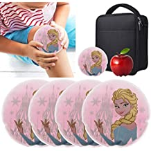 Boo Boo Buddy (4 Pack) Kids Reusable Cold Packs Hypoallergenic First Aid Therapy For Injuries Bulk