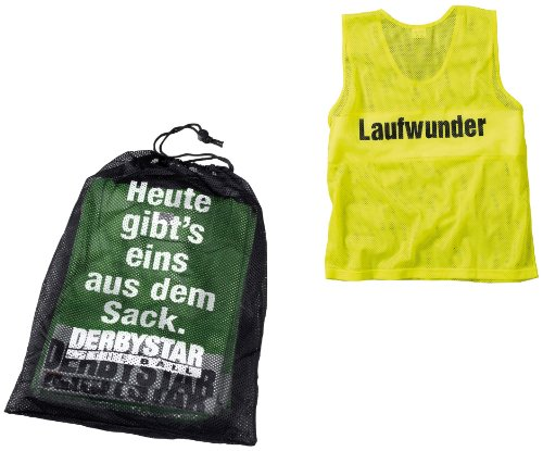 Derbystar Herren Leibchen-Sack, Gelb, Senior, 6822050500