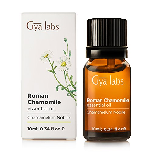 Roman Chamomile Essential Oil - 100% Pure Therapeutic Grade for Hair, Face, Skin, Eczema, Sleep, Bath Relaxation, Diffuser - 10ml