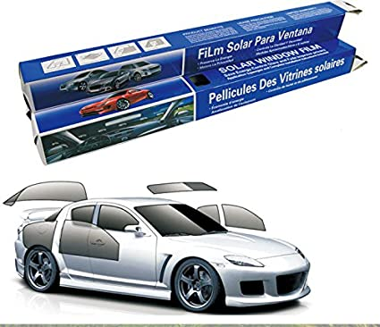 Zantec Window Glass Mirror Tint Film Universal Sun Visor UV & Heat Blocker Windshield Sunshade Window Film 0.5 X 6M