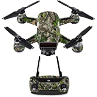Skin for DJI Spark Mini Drone Combo - Htc Green| MightySkins Protective, Durable, and Unique Vinyl Decal wrap cover | Easy To Apply, Remove, and Change Styles | Made in the USA