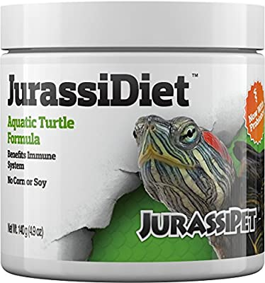 JurassiDiet - Aquatic Turtle, 140 g / 4.9 oz.