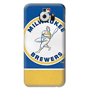 S6 Case, MLB - Vintage Brewers - Milwaukee Brewers - Samsung Galaxy S6 Case - High Quality PC Case