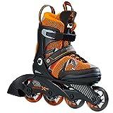K2 Skate SK Hero X PRO, Black/Orange, Size 11-2