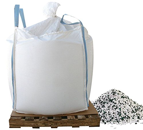Bare Ground CCPSG-1000 Cacl2 Snow & Ice Melt Pellets with Slip Grip Traction Granules in Super Sack, 1000 lb