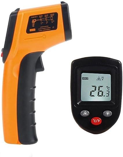 Stirnpistoleno Contacto Term/ómetro De Frente Infrarrojo Digital Cuerpo Term/ómetro Zeitliche Pistole Der Temperatur