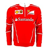 Ferrari F1 Racing Replica SF Team Puma Half Zip Fleece Red Official 2017