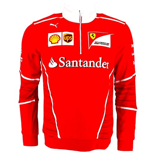 Ferrari F1 Racing Replica SF Team Puma Half Zip Fleece Red Official 2017 by Scuderia F1