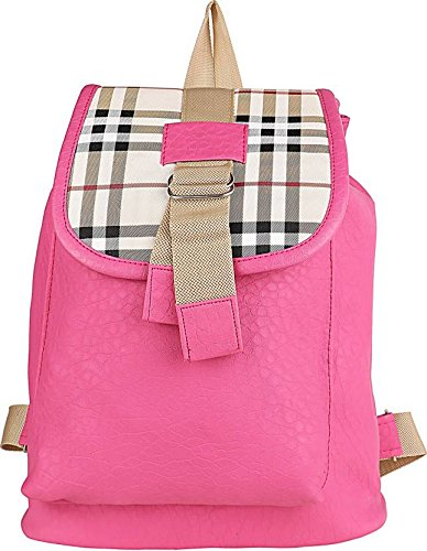 Typify Casual Purse Fashion School Leather Backpack Shoulde